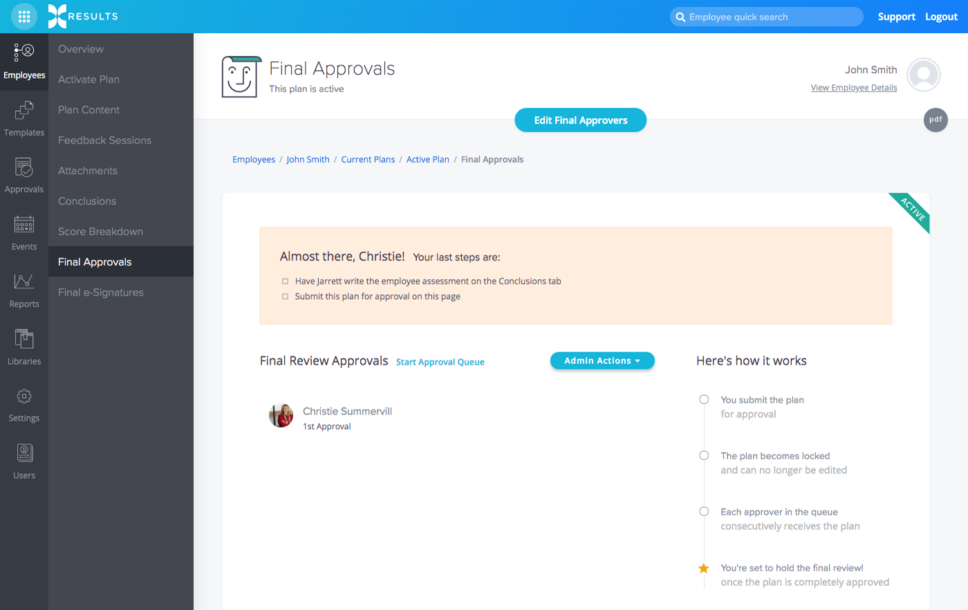 Automated Approvals